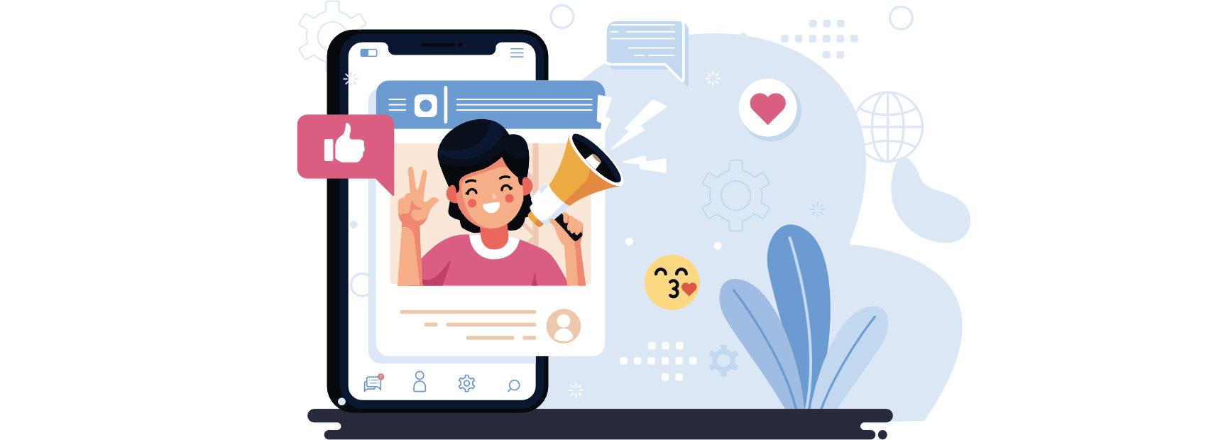 Estar en las redes sociales no es tener un sitio web